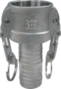 Picture of  SS 316 Camlock Coupling Type C