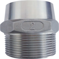 Picture of 316SS CL150 NPT Hex Weld Nipple #NULL