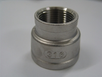 Picture of 316SS CL150 NPT Reducing Socket Banded #ANRSB/6N