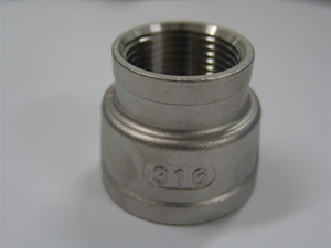 Picture of SS 316 CL150 Flanged FNPT Reducing Socket Banded #ANRSB/6N