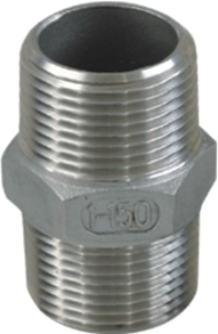 Picture of SS 316 CL150 Flanged FNPT Hex Nipple