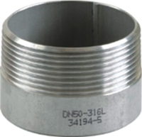 Picture of 316SS CL150 NPT Toe Nipple #NULL