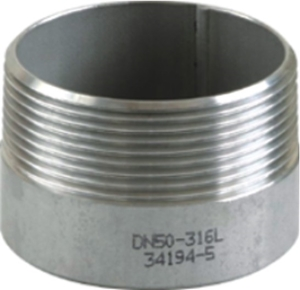 Picture of SS 316 CL150 Flanged FNPT Toe Nipple #NULL