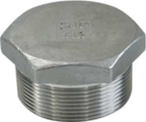 Picture of SS 316 CL150 Flanged FNPT Hex Plug #NULL
