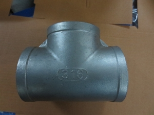 Picture of SS 316 CL150 Flanged FNPT Equal Tee (F-F-F) #ANETFFF/6N
