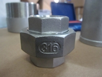 Picture of 316SS CL150 NPT Union (M-F) #NULL
