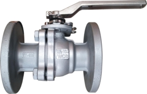 Picture of  CS 2-Piece F/P Ball Valve  150 Flanged (Fire Safe)
