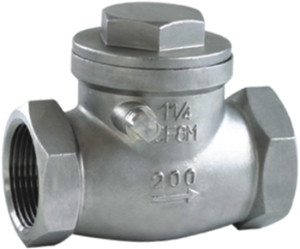 Picture of  SS 316 Swing Check Valve CL200 FNPT