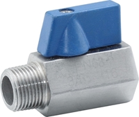 Picture of SS 316 Mini Ball Valve M-F NPT