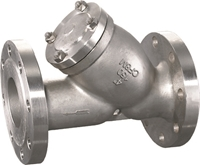 Picture of  SS CF8M Y strainer Class 150 Flanged
