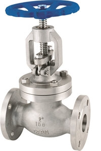 Picture of SS CF8M Globe Valve Class 150 Tim 10 Flanged