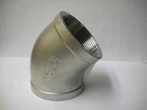 Picture of SS 316 CL150 FNPT 45° Elbow (F-F) #ANE45FF/6N