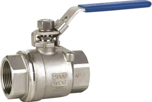 Picture of SS 316  2-Piece FIRE SAFE Full Port Ball Valve 2000 FNPT