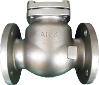 Picture of  CS Flanged Swing Check Valve Trim8 ANSI 300