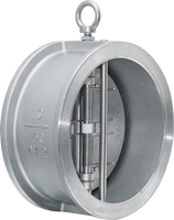 Picture of  H76 Wafer Double Disc Spring Check Valve